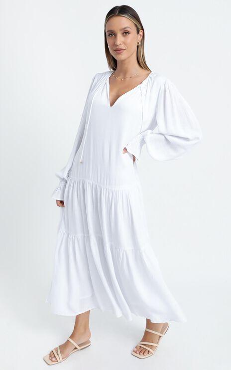 Bodil Dress in White