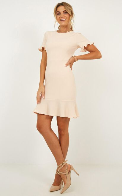 Authority Dress in nude - 20 (XXXXL), Beige, hi-res image number null