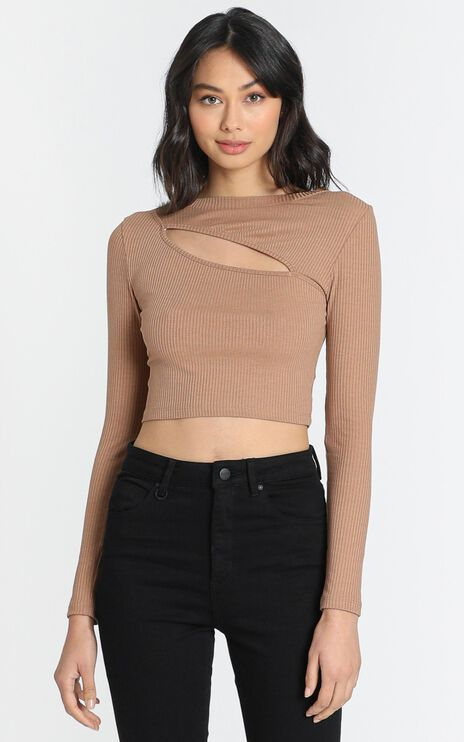 Leonie Top in Chocolate