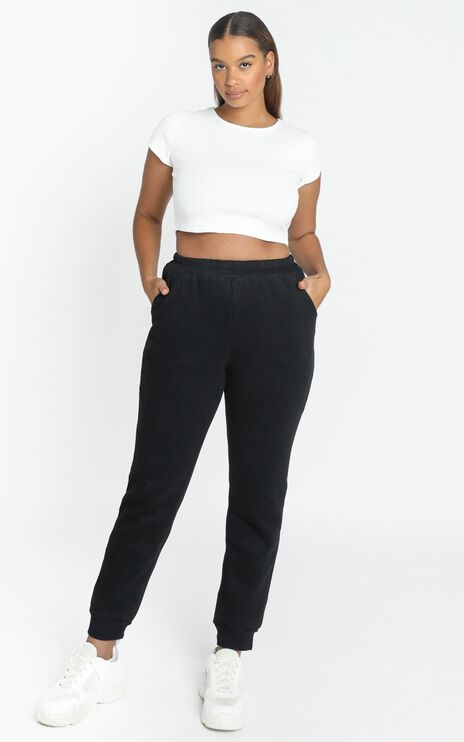 Henri Sweatpants in Washed Black