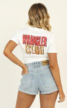 Wrangler - Tour Tee In White