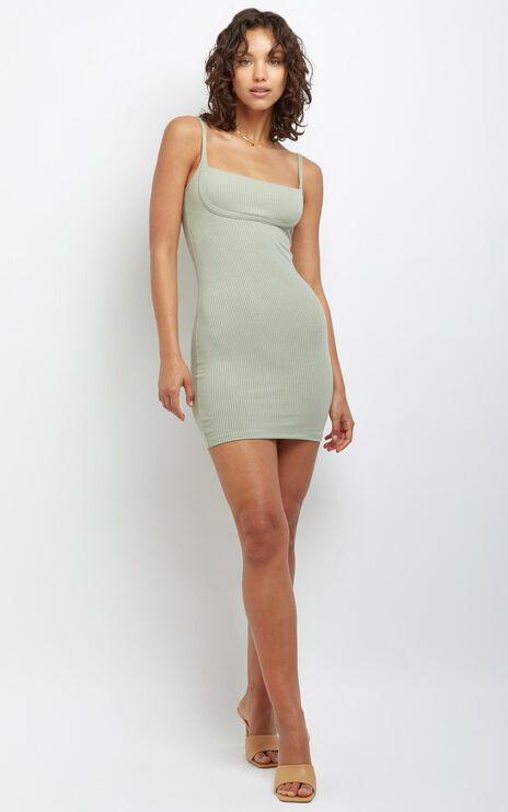 Valentina Dress in Khaki