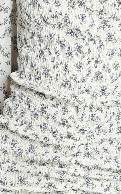 Maeve Dress in cream floral - 12 (L), Cream, hi-res image number null