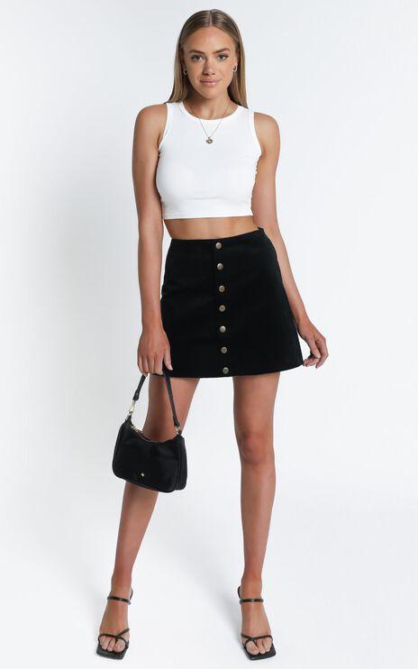 Open Season Skirt In Black