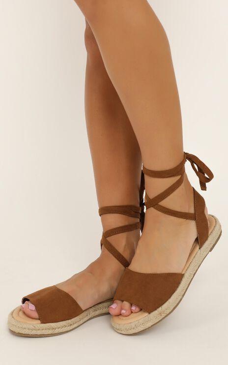 Therapy - Dauphin Sandals In Tan Micro