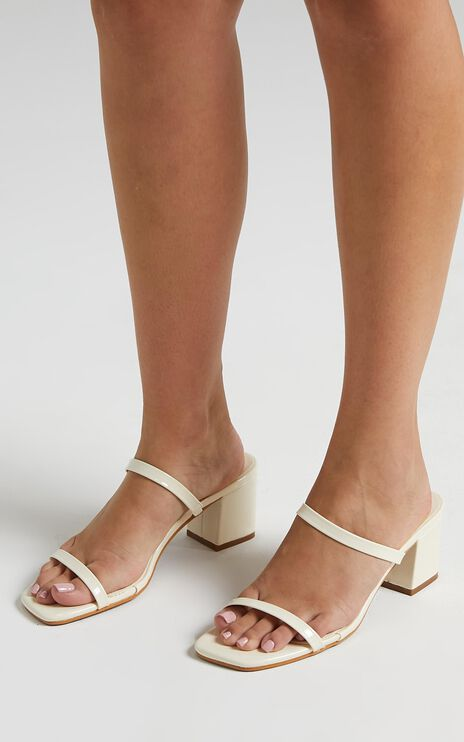 Billini - Dane Heels in Ivory Patent