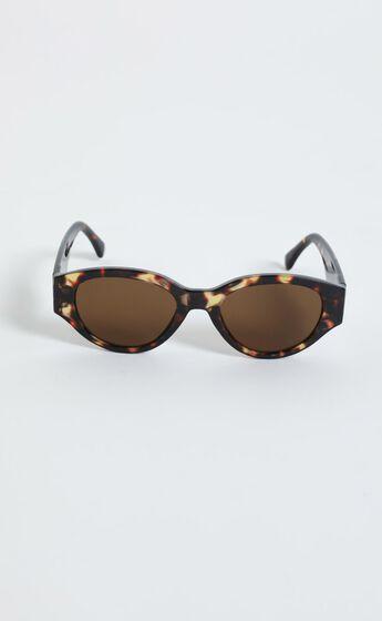 Reality Eyewear - Strict Machine Sunglasses in Turtle