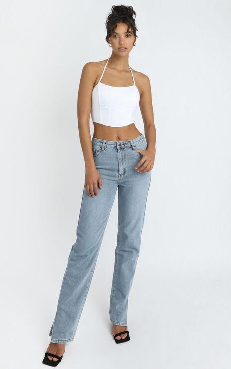 Lioness - Alabama Jeans in Light Denim