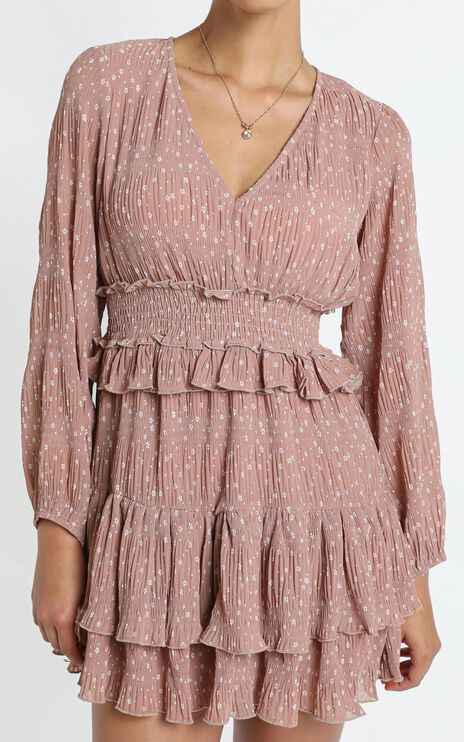 Good Surprise Dress in Blush Floral