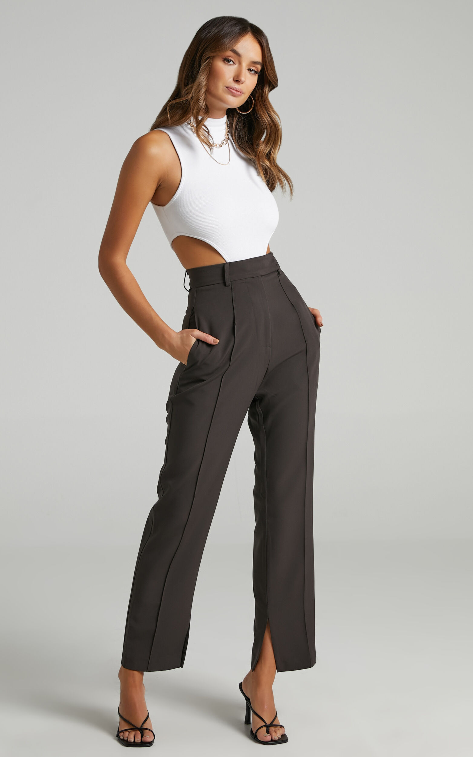 Rogers Pants in Charcoal - 06, GRY1, super-hi-res image number null
