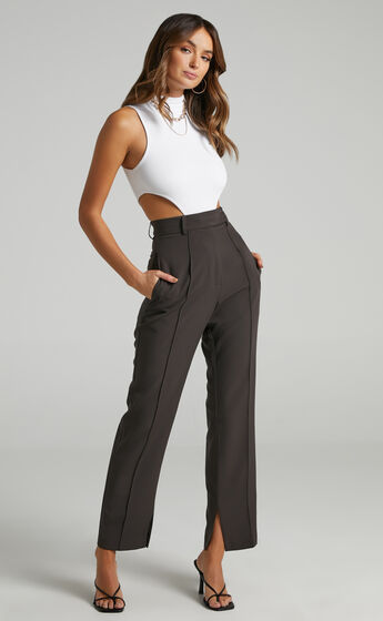 Rogers Pants in Charcoal