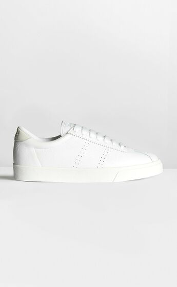 Superga - 2843 ClubS Sneakers in White Leather