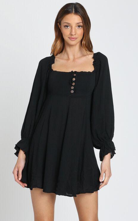 Gypsy Soul Dress in Black