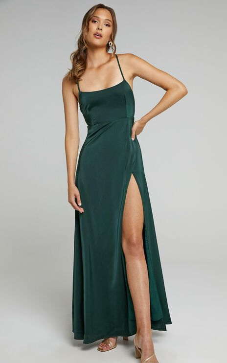 Will It Be Us Dress In Emerald
