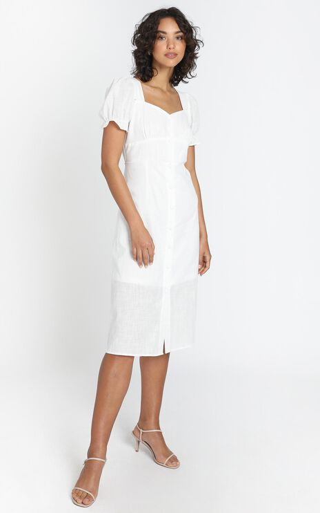 Myra Dress in White