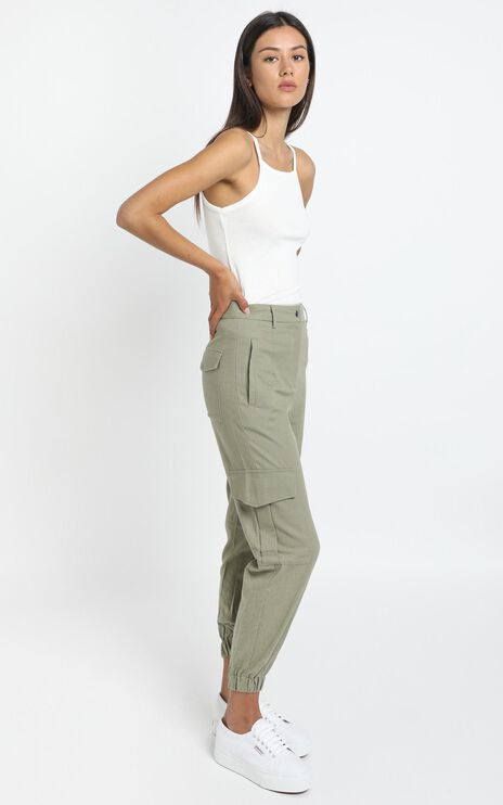 Kayla Pants in Khaki