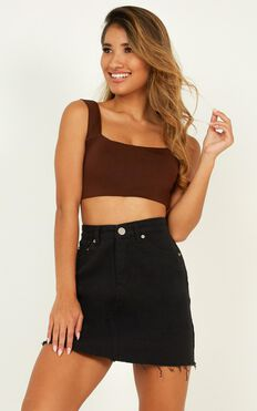 Sugarplum Top In Chocolate