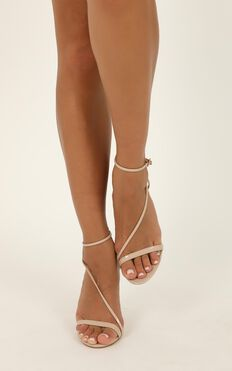 Billini - Tawnie Heels In Nude Patent