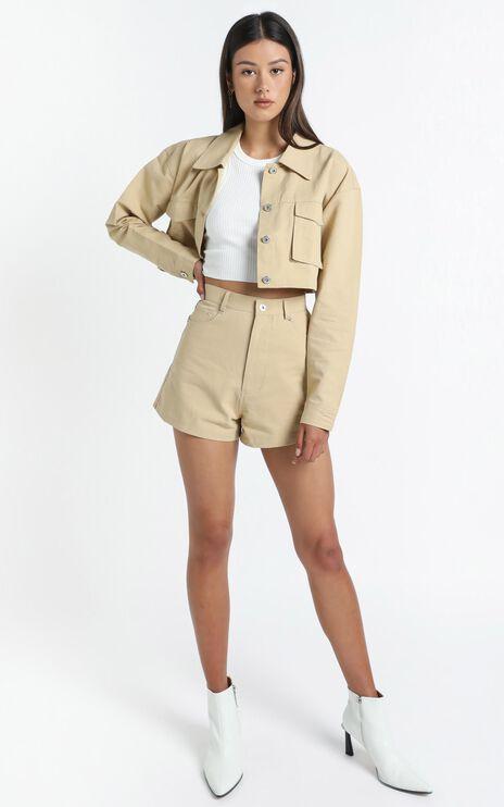 Jayla Shorts in Beige