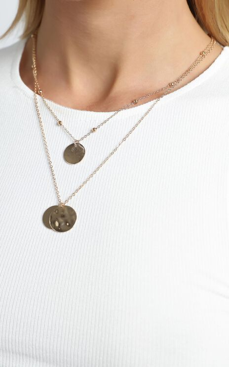 Danna Layered Necklace in Gold