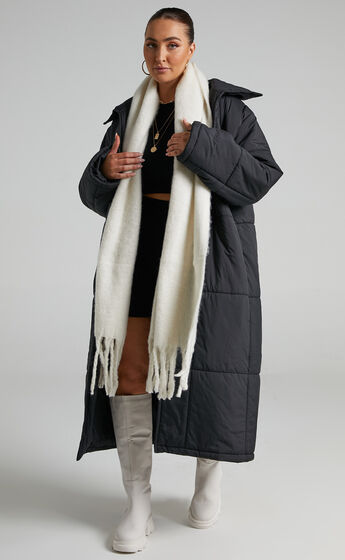 Lawrence Scarf in White