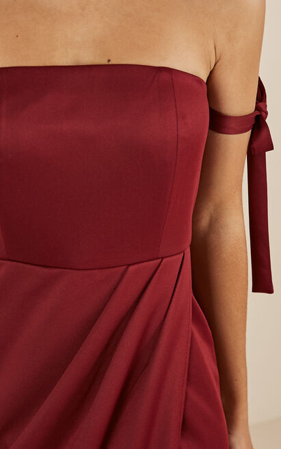 Already Home Dress in wine - 20 (XXXXL), Wine, hi-res image number null