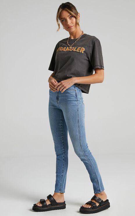 Wrangler - Hi Pins Cropped Jean in Dreamboat