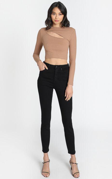 Neuw - Marilyn Skinny Jeans in Blackest Silk