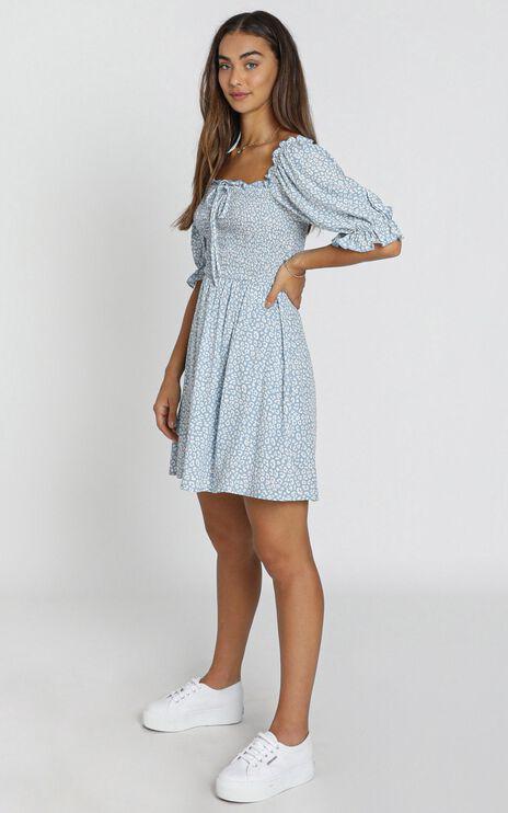 Xander Dress in blue