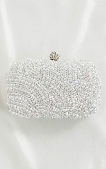 Love Fool Clutch In Pearl, , hi-res image number null