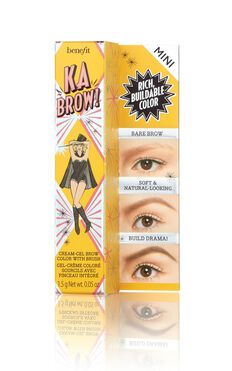 Benefit - Ka-BROW! Eyebrow Cream-Gel Colour Mini In 4 - Warm Deep Brown