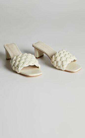Sol Sana - Matias Mule Heels in Off White