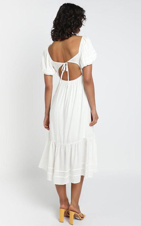 Penelope Dress in White