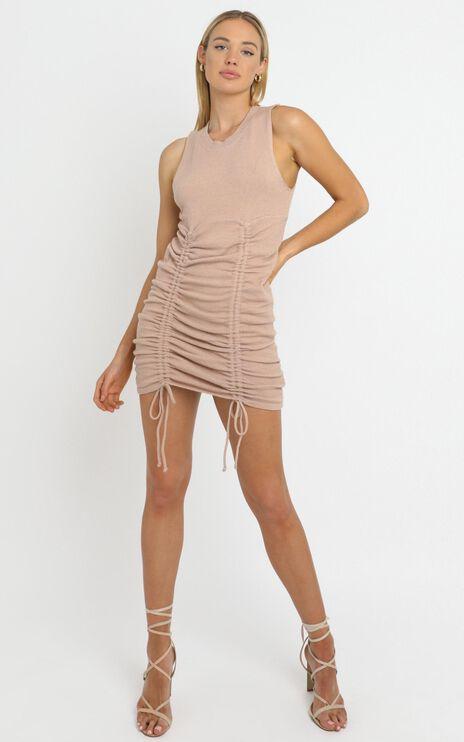 Jody Dress in Tan