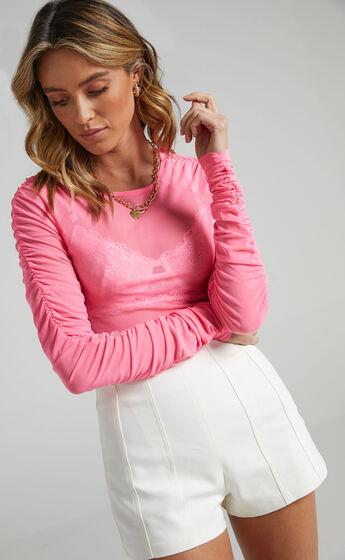 Embla Top in Pink