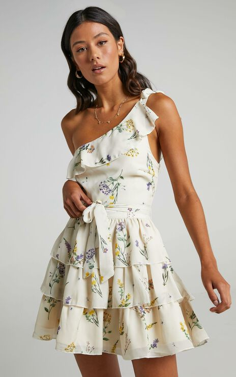 Dreaming Of Us Dress in botanical floral
