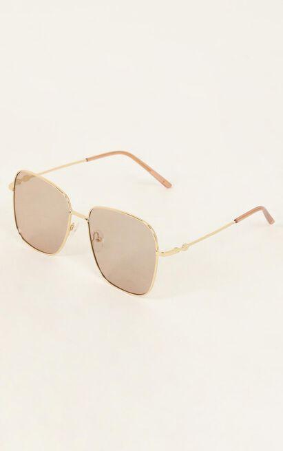 Sugar Craving Sunglasses In Beige, , hi-res image number null