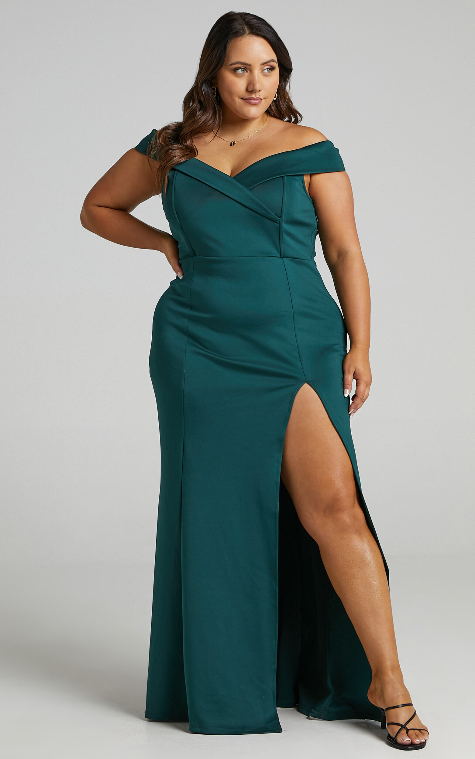 One For The Money Dress in Emerald - 20, GRN2, super-hi-res image number null