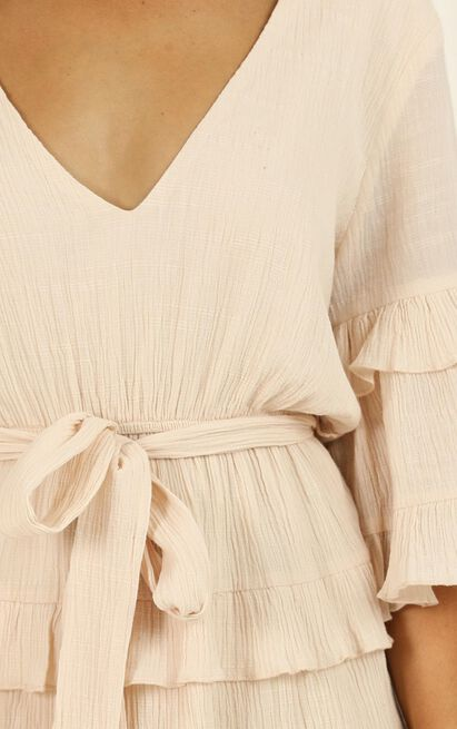 Meet Me In The Sun dress in natural - 20 (XXXXL), Beige, hi-res image number null