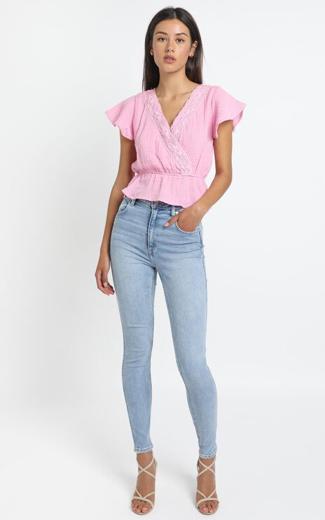Walter Top in Prism Pink