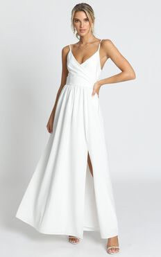 Revolve Around Me Dress In White