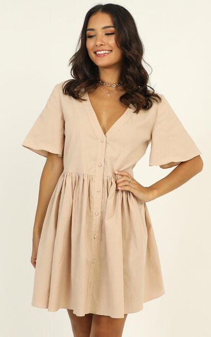 Staycation Dress in beige - 20 (XXXXL), Beige, hi-res image number null