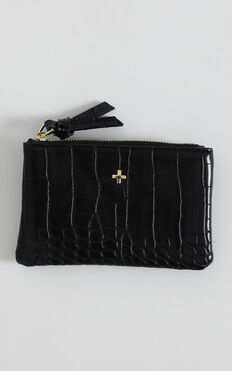Peta and Jain - Bardot Wallet In Black