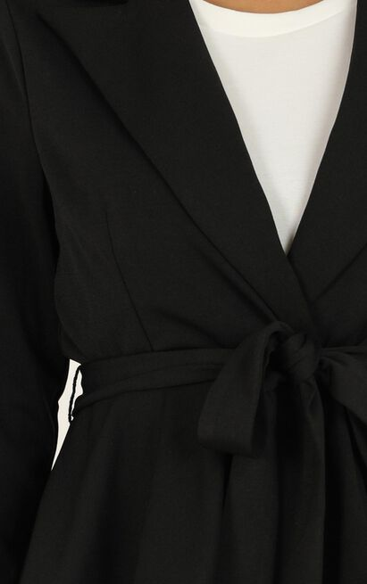 Strong Minded Blazer in black - 20 (XXXXL), Black, hi-res image number null