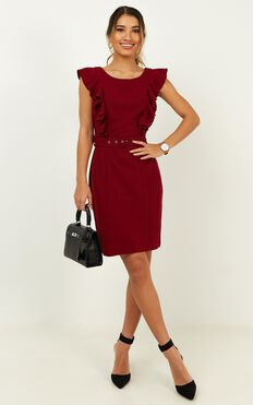Project Master Dress In Wine