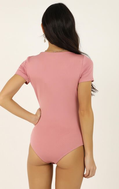 Walk Of Fame bodysuit In blush - 20 (XXXXL), Blush, hi-res image number null