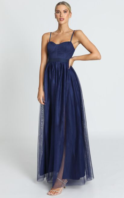 At The Altar Dress in navy - 20 (XXXXL), Navy, hi-res image number null