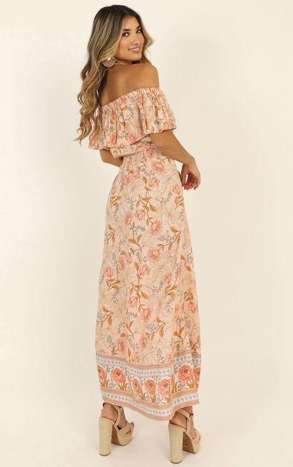 Lasting Legacy Dress in pink print - 14 (XL), Pink, hi-res image number null