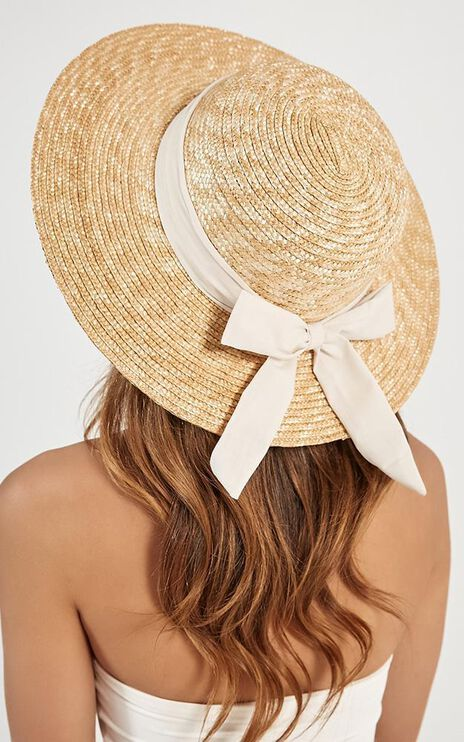 Sail Away Hat In Cream And Natural
