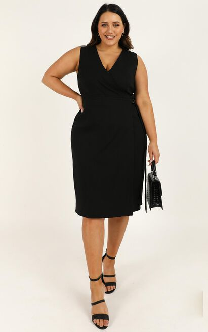 Next Appointment dress in black - 20 (XXXXL), Black, hi-res image number null